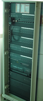 One way emergency voice communication / PA system Rack